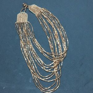 Vintage copper beaded necklace